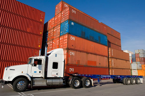 What is transloading in the transport industry