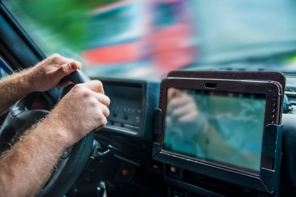 Benefits of GPS in line-haul transportation